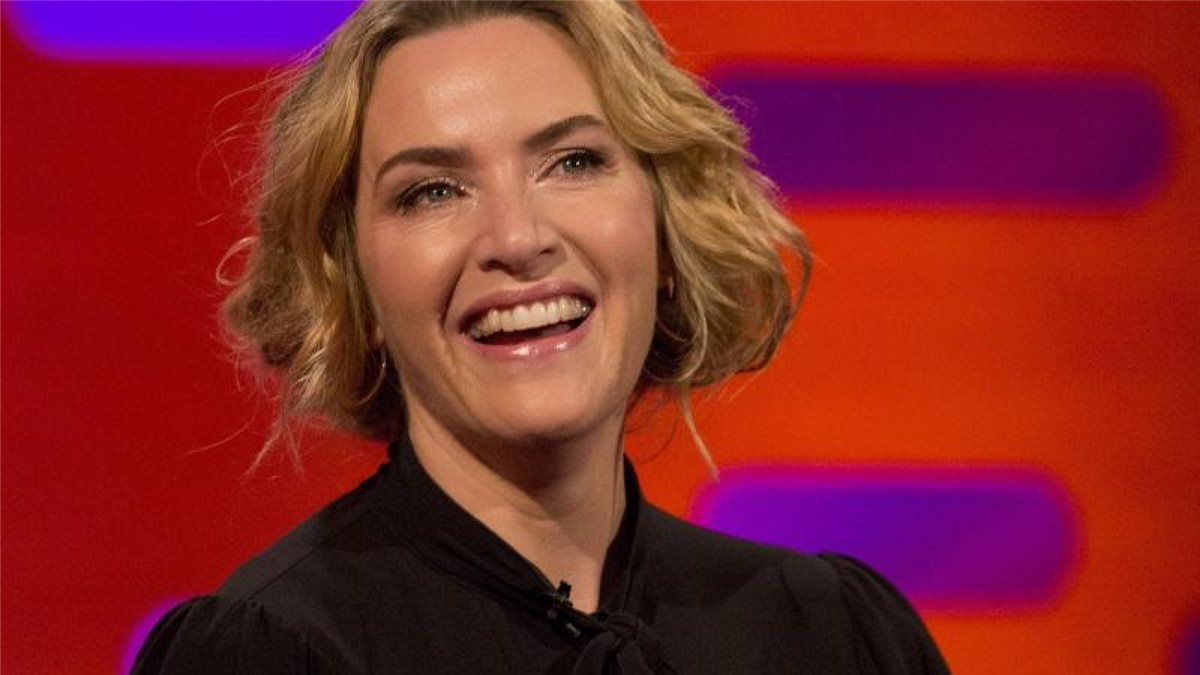 "Kate Winslet 2017 in der ""Graham Norton Show"". Foto: Isabel Infantes/PA Wire/dpa"
