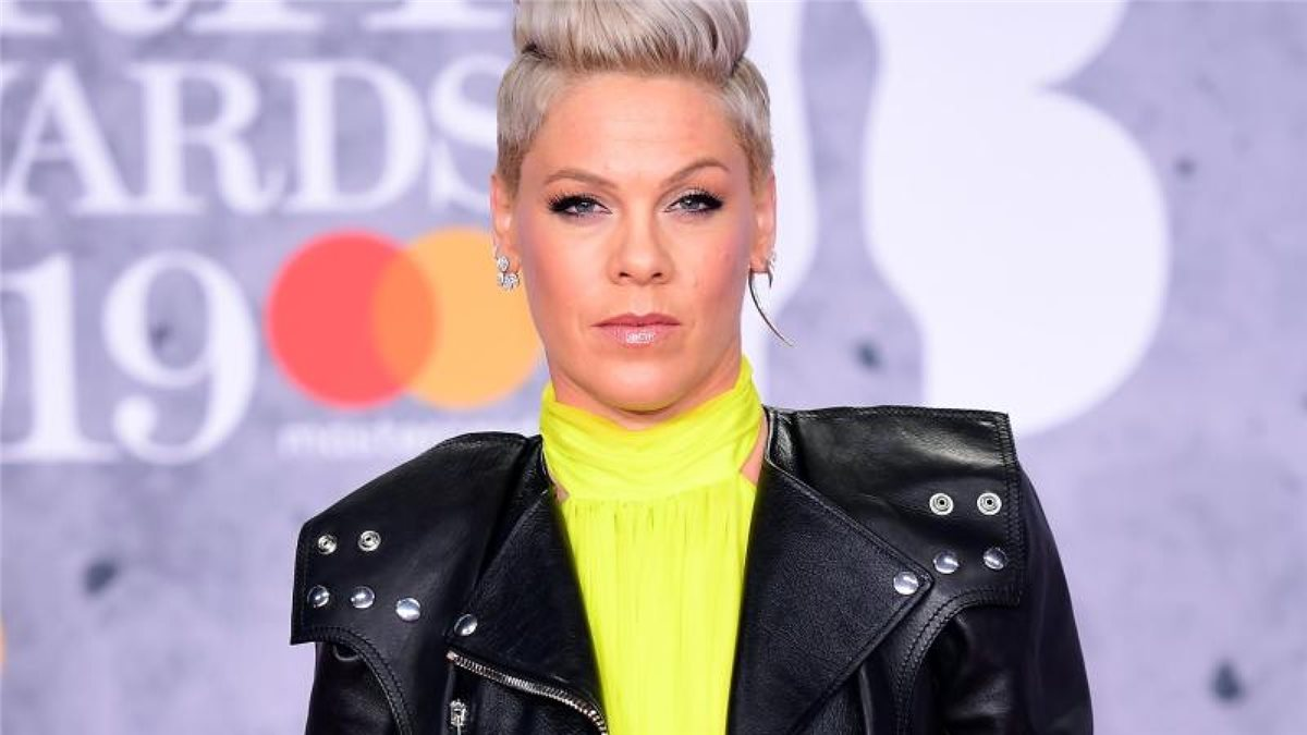 Sänegrin Pink bei den Brit Awards 2019. Foto: Ian West/PA Wire/dpa