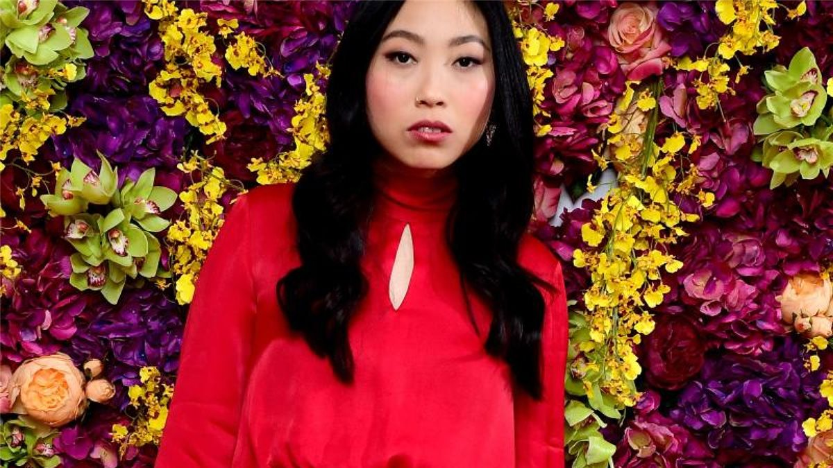 "US-Schauspielerin Awkwafina bei der Premiere des Films ""Crazy Rich Asians"" in London. Foto: Ian West/PA Wire/dpa"